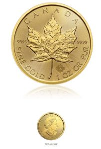 Buy Gold Maple Leaf Coins​
