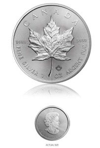 Buy Silver Maple Leaf Coins​